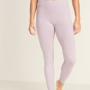 Lilac Thermal Athletic Leggings (Tall Large)
